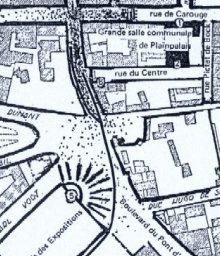 plan des événements du 9 novembre 1932