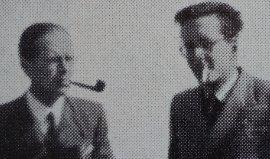Jean Grieshaber et Pierre Hirsch en 1949