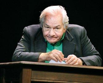Galabru au théâtre en 2009 (et 2010) dans Jules et Marcel, d'après la correspondance entre Jules Raimu et Marcel Pagnol