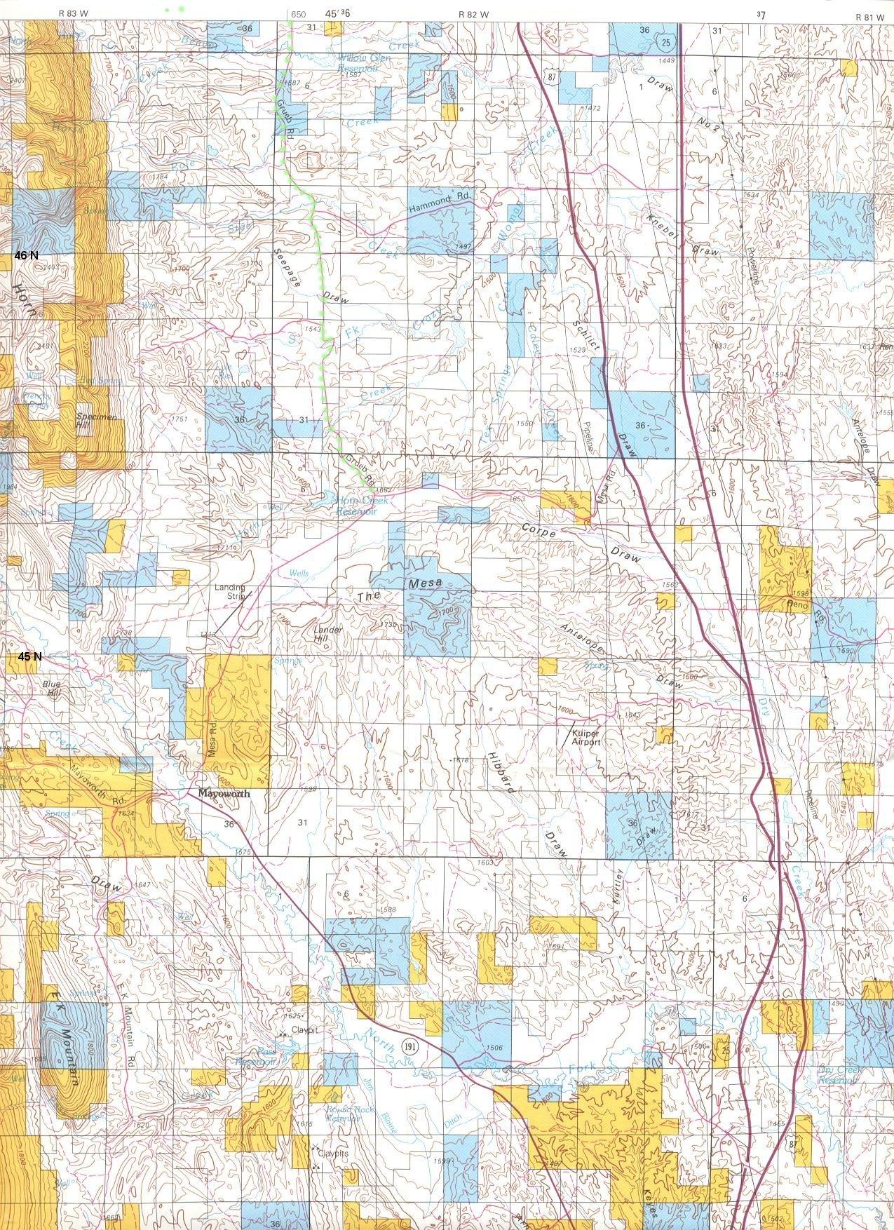 Ordiecole  Buffalo Johnson County Wyoming USA