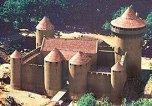 le château, tel qu'il sera une fois terminé...vers 2025