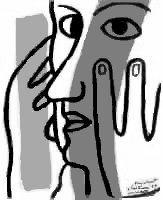 Paul Eluard par Fernand Léger, 1947