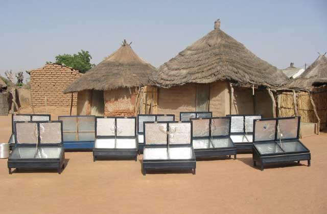 Autres applications du solaire thermique - Fours solaires en afrique ...