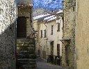 L'unique rue du village de Gars - cliquer pour agrandir l'image !