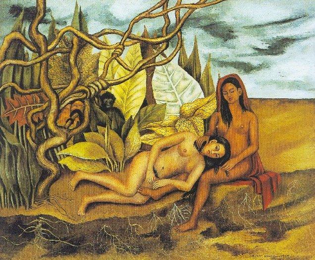 Dos desnudos en un bosque (1939)
