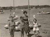 Moby Dick à Porquerolles vers 1957
