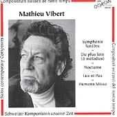 oeuvres de mathieu vibert, compositeur carougeois