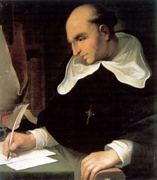 portrait de Bartolomé de las Casas -- cliquer pour agrandir l'image