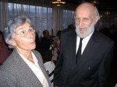 Inès et Marcel au Café des Sports, rue de la Charrière 73b, le 25 octobre 2006 à 16h45,  soit quinze jours avant son 90ème anniversaire