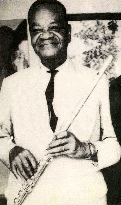 Pixinguinha e sua flauta - 1960