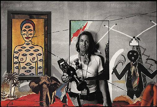 autoportrait René Burri, Coronado, New Mexico, 1973-83