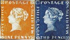 le célèbre 'one penny' de 1847
